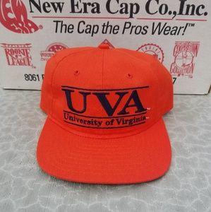 1990s University of Virginia Leather Strap Hat